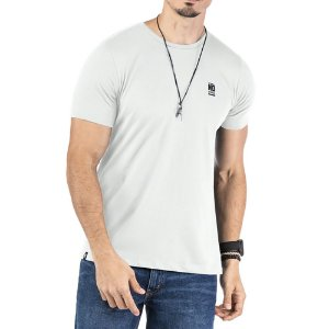 Camiseta Estampa Logo No Stress Branca