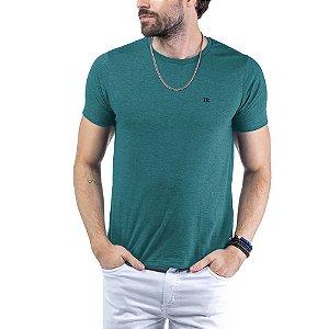 Camiseta Flamê c/ Plaquinha TZE Azul