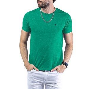 Camiseta Flamê c/ Plaquinha TZE Verde