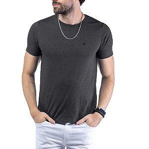 Camiseta Flamê c/ Plaquinha TZE Preta