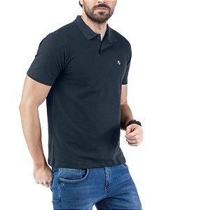 Camisa Polo Piquet Bordado TZE Marinho