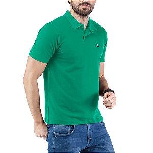 Camisa Polo Piquet Bordado TZE Verde