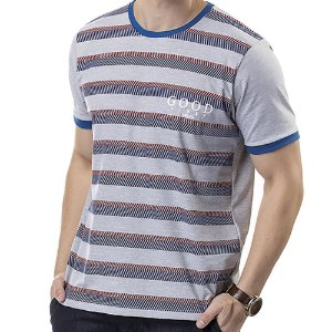 Camiseta Estampa Listras TZE Mescla