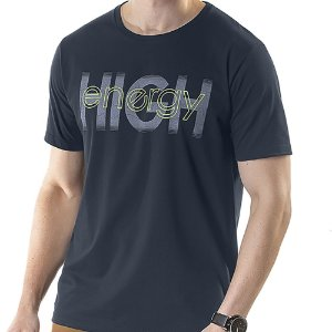 Camiseta Estampa High TZE Marinho