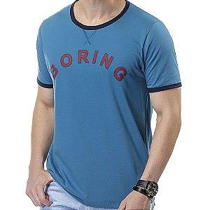 Camiseta Estampa Boring TZE Azul
