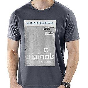 Camiseta Estampa Quadro TZE Grafite