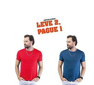 Camiseta Flamê c/ Plaquinha TZE - Leve 2, Pague 1