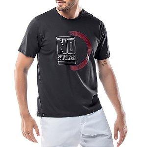 Camiseta Estampa Logo No Stress Preta