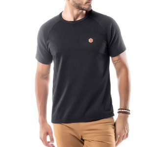 Camiseta Raglan Under No Stress Preta