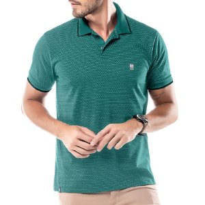 Camisa Polo New Finy No Stress Verde