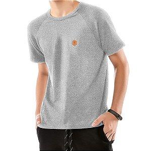 Camiseta Raglan Under Menino No Stress Mescla