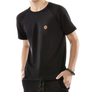Camiseta Raglan Under Menino No Stress Preta