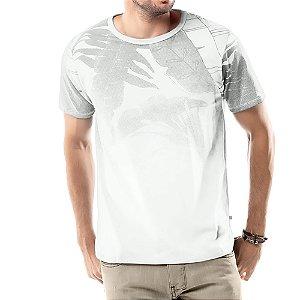 Camiseta Estampa Floral TZE Branca