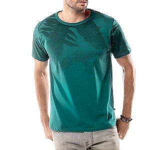 Camiseta Estampa Floral TZE Verde