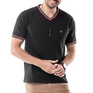 Camiseta Retilínea TZE Preta