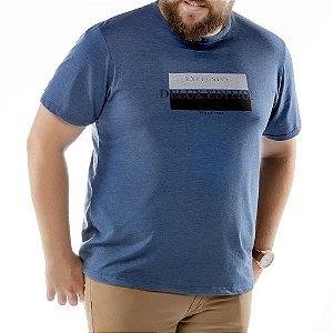 Camiseta Estampa Brilho Plus TZE Azul