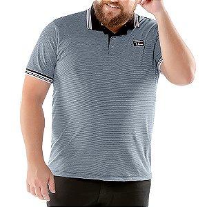 Camisa Polo Listy Plus TZE Azul Marinho