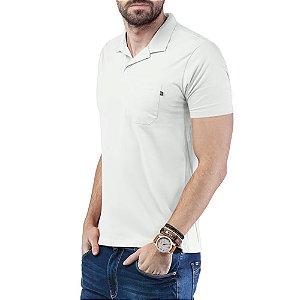 Camisa Polo Bolso TZE Branca