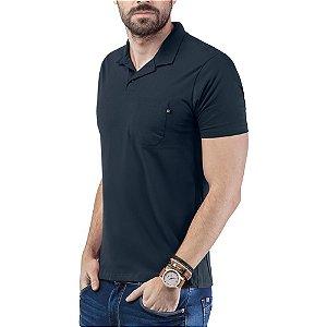 Camisa Polo Bolso TZE Azul Marinho