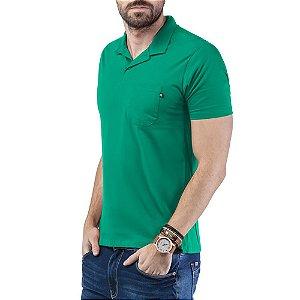 Camisa Polo Bolso TZE Verde