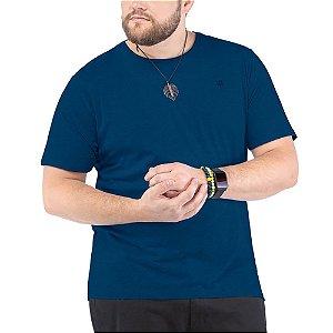 Camiseta Bordado Logo Plus TZE Azul