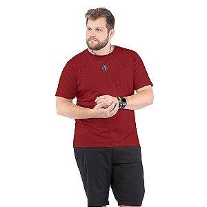 Camiseta Bordado Logo Plus TZE Vinho