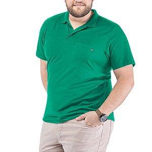 Camisa Polo Bolso Plus TZE Verde