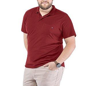 Camisa Polo Bolso Plus TZE Vermelha