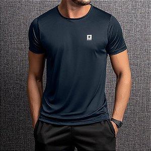 Camiseta Dry Masculina Endorfina Azul Marinho