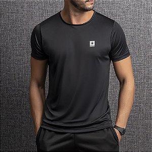 Camiseta Dry Masculina Endorfina Preta