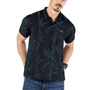 Camisa Polo Estampa Floral No Stress