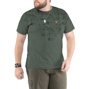 Camiseta Estampa Floral Plus No Stress