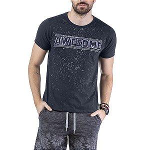 Camiseta Estampa AWESOME TZE