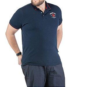 Camisa Polo Bordado Plus TZE