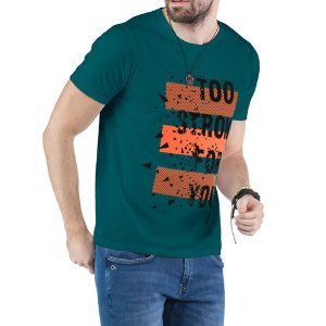 Camiseta Estampa TOO STRONG TZE