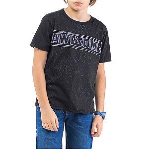 Camiseta Estampa AWESOME Menino TZE