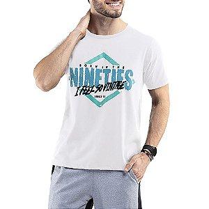 Camiseta C/ Estampa TZE Branca