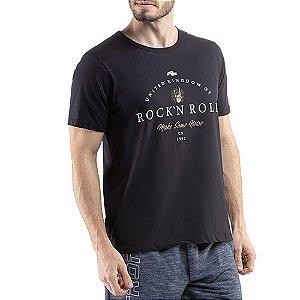 Camiseta C/ Estampa TZE Preta