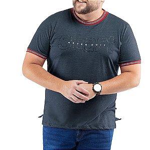 Camiseta C/ Estampa TZE Plus Azul