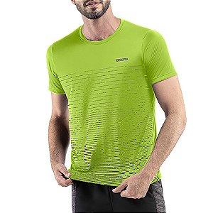 Camiseta Esportiva C/ Listras Endorfina Neon