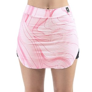 Short Saia Esportivo C/ Porta Celular Endorfina Rosa