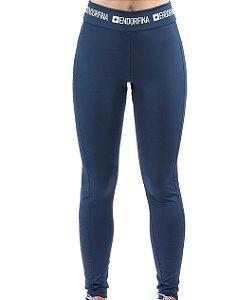 Legging Esportiva C/ Estampa Endorfina Azul