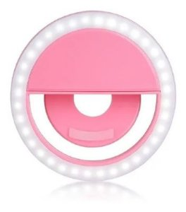 MINI RING LIGHT PARA CELULAR