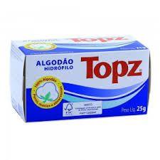 Algodao Hidrófilo Topz  25 G