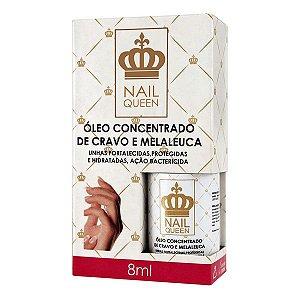 Óleo Concentrado De Cravo E Melaleuca Nail Queen  8ml