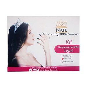 Kit Unha Acrilic Light Nail Queen