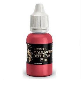 Pigmento Orgânico Vermelho Electric Ink 15Ml