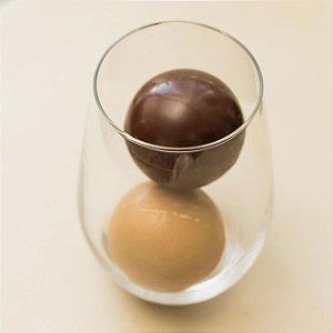 KIT ESFERAS DE CHOCOLATE QUENTE COM COPO