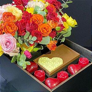 Flores e Corações