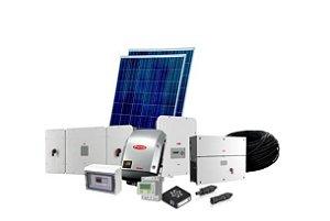 Gerador de Energia Solar de 12.09kWp